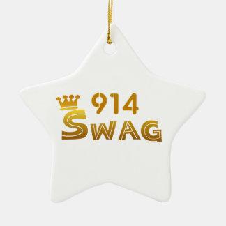 Swag de 914 Nueva York Ornamentos De Reyes