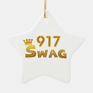 Swag de 917 Nueva York Adorno Para Reyes
