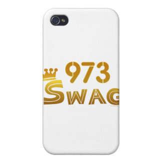 Swag de 973 New Jersey iPhone 4 Cárcasa