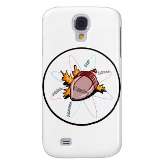 Swag de la feria de ciencia de OES Funda Samsung S4