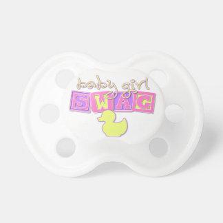 Swag de la niña chupetes para bebes