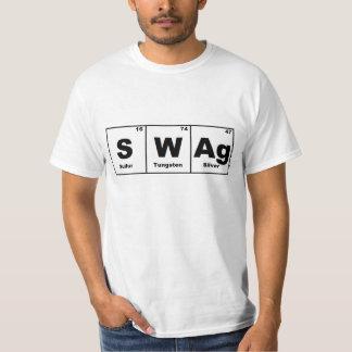 Swag de la tabla periódica poleras