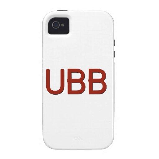 Swag de UBB iPhone 4 Fundas