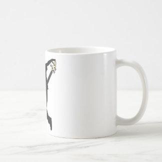 Swag del bajista taza de café