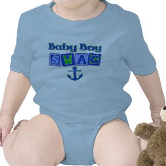 Swag del bebé camisetas
