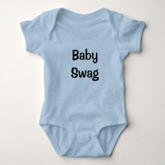 Swag del bebé mameluco de bebé