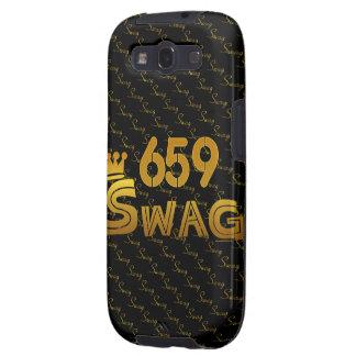 Swag del código de área 659 galaxy s3 funda