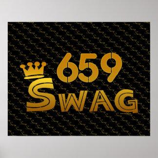 Swag del código de área 659 impresiones