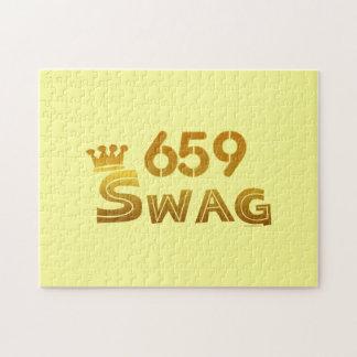 Swag del código de área 659 puzzles