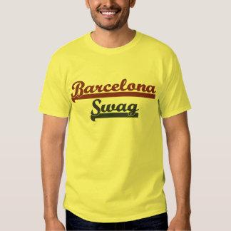 Swag del equipo de Barcelona Camisas