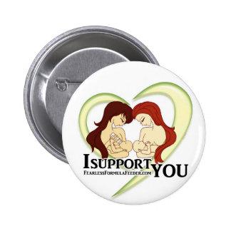 Swag del movimiento del #ISupportYou Pin Redondo 5 Cm