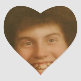 SWAG - Dudes Face Heart Sticker