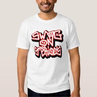 Swag en Steriods -- Camiseta Camisas