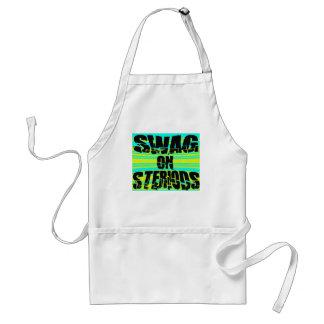 Swag en Steriods -- Camiseta Delantales