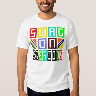 Swag en Steriods -- Camiseta Remera