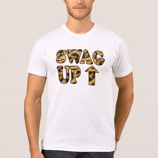 Swag encima de la camiseta