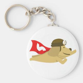 Swag estupendo del perro escaso llaveros personalizados