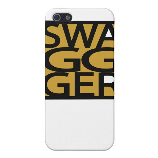 Swag, fanfarronería, GG iPhone 5 Funda