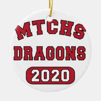 Swag for the Class of 2020 Ceramic Ornament