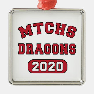 Swag for the Class of 2020 Metal Ornament