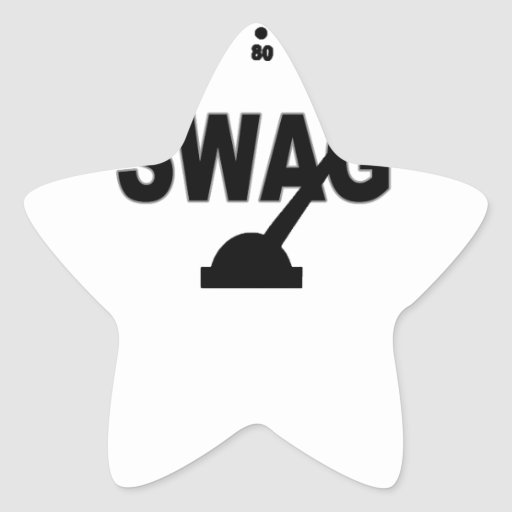 SWAG Gauge Tee_Red.png Star Sticker