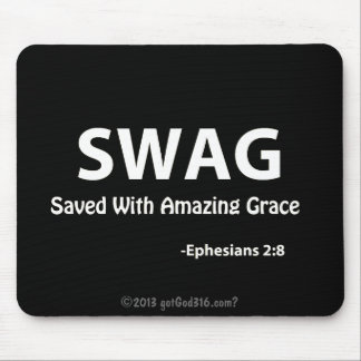 SWAG gotGod316.com Scripture Mouse Pad