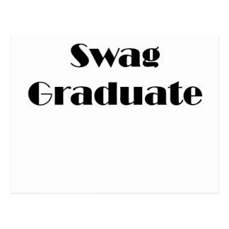 Swag Graduate Postcard