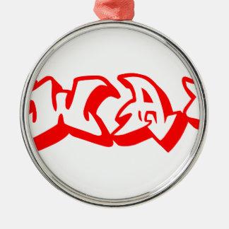 swag-graf-3d-red.png adorno navideño redondo de metal