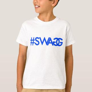 Swag Hashtag (Blue) T-Shirt