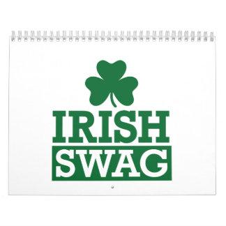 Swag irlandés calendario