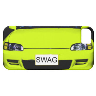 Swag Neon Yellow Car iPhone 5 Case