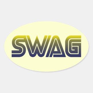 Swag Oval Sticker