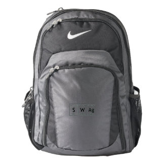 SWAg Periodic Table Element Word Chemistry Symbol Nike Backpack