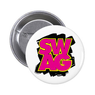 SWAG - Pink & Yellow Button