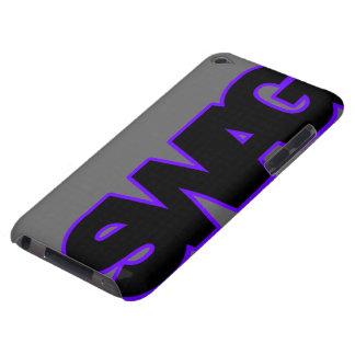 SWAG púrpura de neón iPod Case-Mate Carcasas