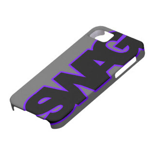 SWAG púrpura de neón iPhone 5 Cárcasa