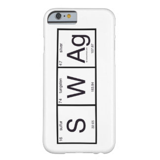 SWAG químico Funda De iPhone 6 Barely There