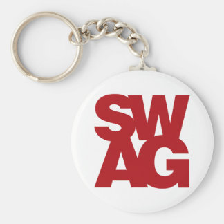 Swag - Red Keychain