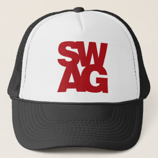Swag - Red Trucker Hat