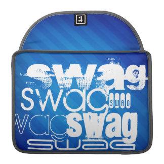 Swag; Royal Blue Stripes MacBook Pro Sleeves