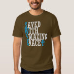 SWAG Saved With Amazing Grace Cross Tee Shirt T
