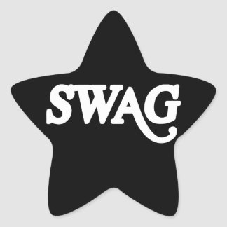 Swag Star Sticker