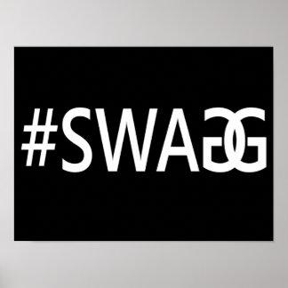 #SWAG/SWAGG divertido, cita de moda, fresca del In Posters