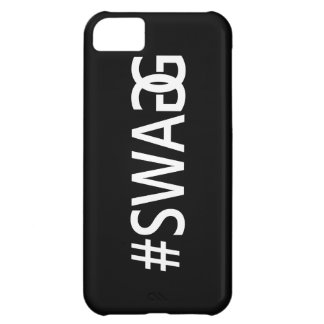 #SWAG / SWAGG Funny & Cool Quotes, Trendy Hash Tag Case For iPhone 5C