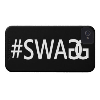#SWAG / SWAGG Funny & Cool Quotes, Trendy Hash Tag iPhone 4 Case-Mate Case