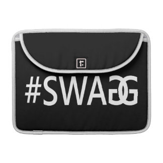 #SWAG / SWAGG Funny & Cool Quotes, Trendy Hash Tag MacBook Pro Sleeve