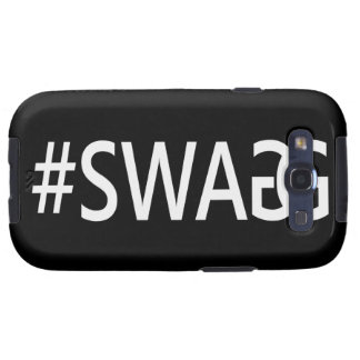 #SWAG / SWAGG Funny, Trendy, Cool Internet Quote Galaxy S3 Case
