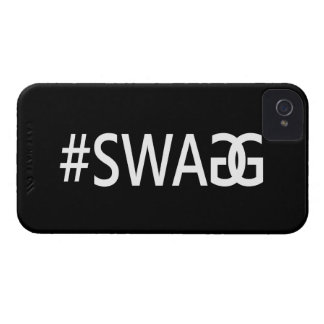 #SWAG / SWAGG Funny, Trendy, Cool Internet Quote iPhone 4 Case
