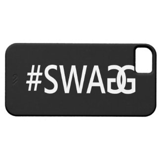 #SWAG / SWAGG Funny, Trendy, Cool Internet Quote iPhone SE/5/5s Case