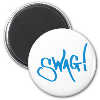 Swag Tag - Blue Magnets